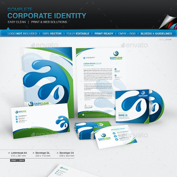 Corporate Identity - Easy Clean