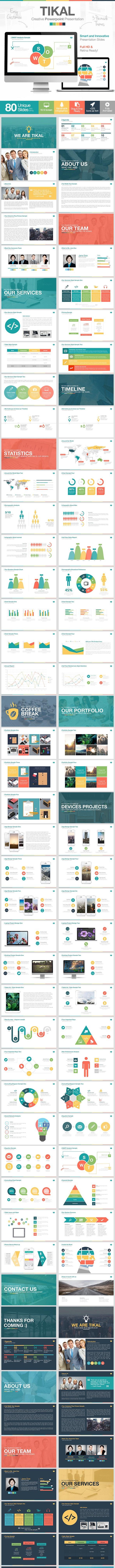 Tikal PowerPoint Presentation Template - Business PowerPoint Templates