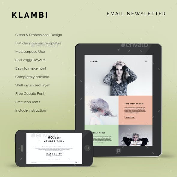 Email Newsletter Klambi