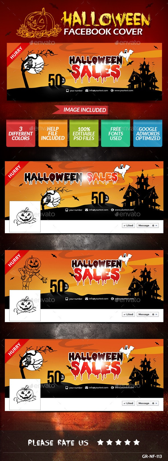 Halloween Facebook Timeline Covers - Facebook Timeline Covers Social Media