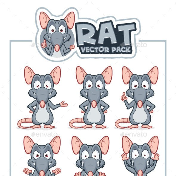 Rat Vector Pack