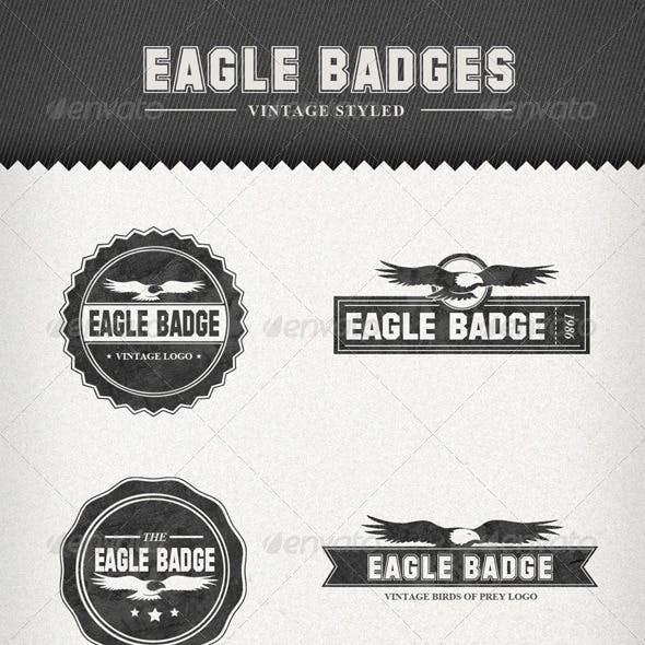 Eagle Badges – Vintage Style Labels