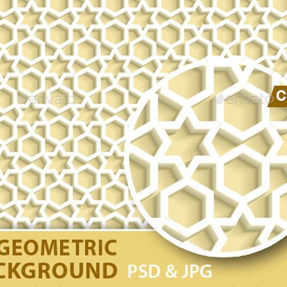 3D Geometric Background