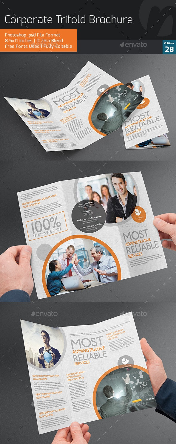 Corporate Trifold Brochure V28 - Corporate Brochures