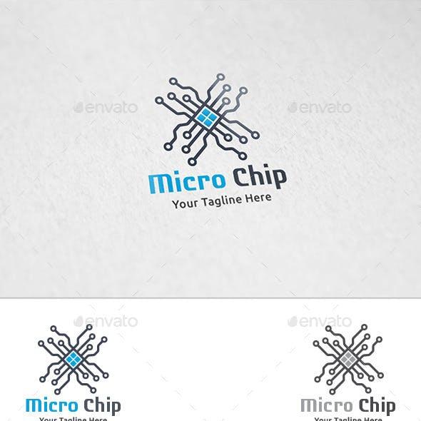 Micro Chip - Logo Template