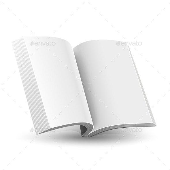 New Magazine - Objects Vectors