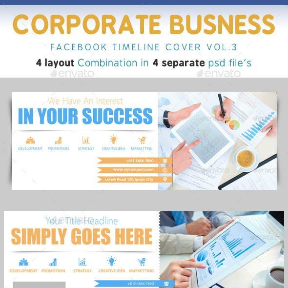 Corporate Business Timeline Vol.3