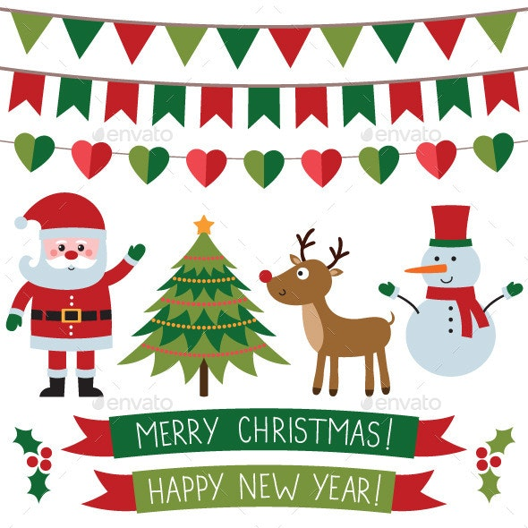 Christmas Vector Set - Christmas Seasons/Holidays