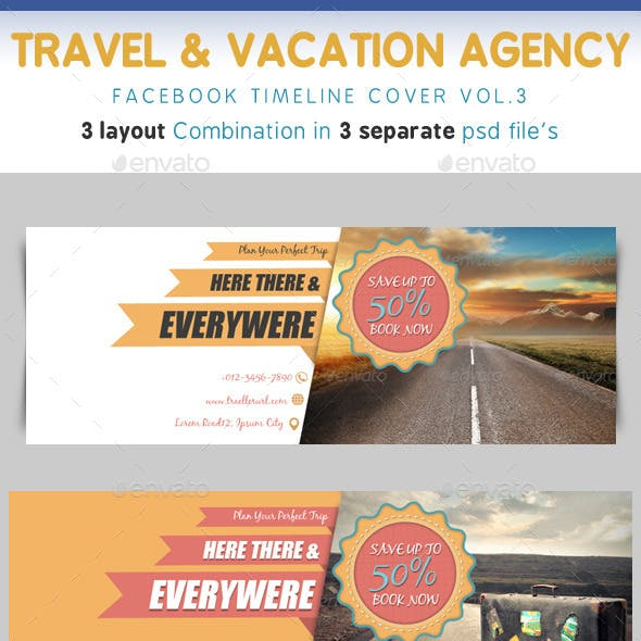 Travel & Vacation Timeline Vol.3