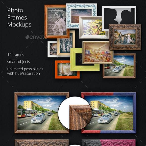11 Photo Frame Mockups