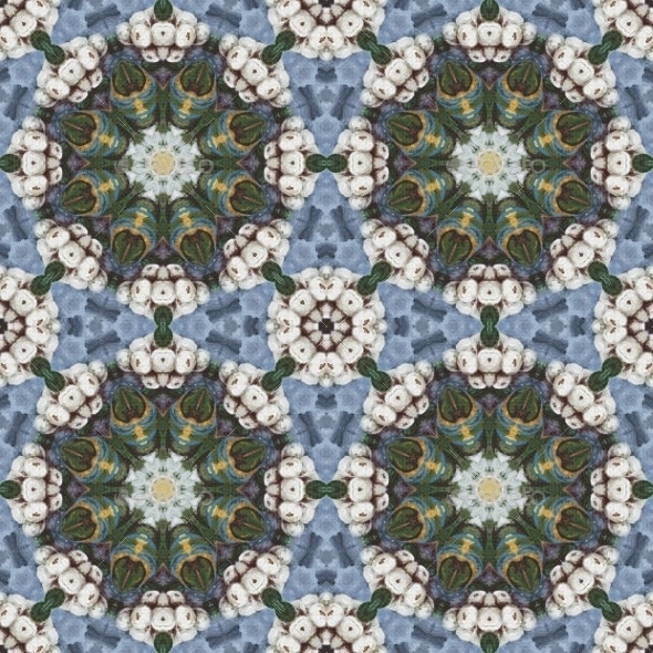 Seamless Pattern Oil Painting - Patterns Backgrounds