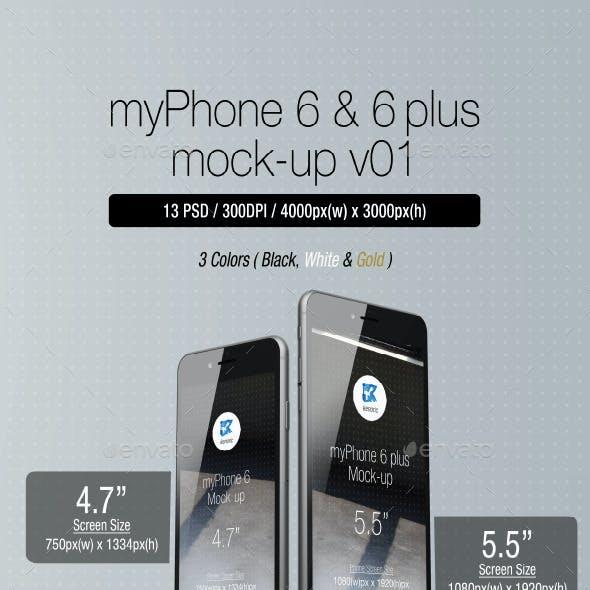 myPhone 6 Mock-up v01
