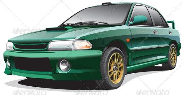 Drag Car No2 - Objects Vectors