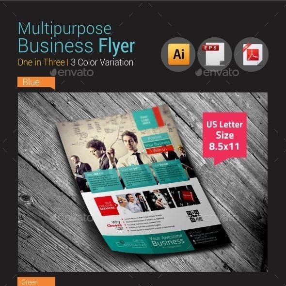 Multipurpose Business Flyer Vol-2