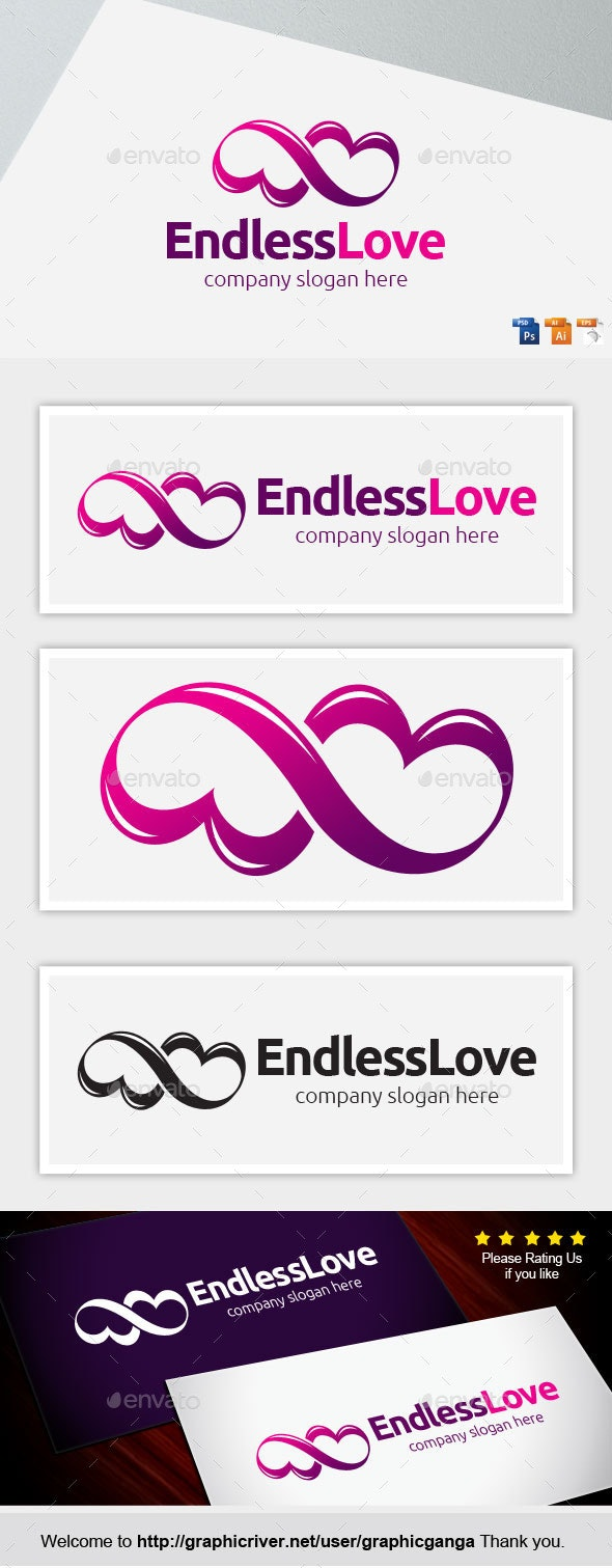 Endles Love - Abstract Logo Templates