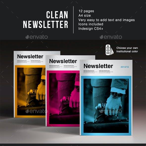Clean Newsletter