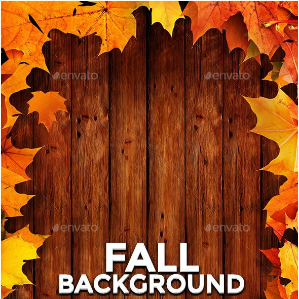 Wood and Fall/Autumn Backgrounds