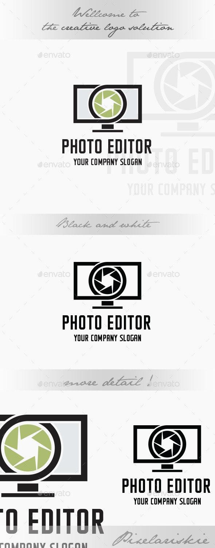 Photo Editor Logo - Symbols Logo Templates