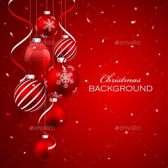 Christmas Balls - Christmas Seasons/Holidays