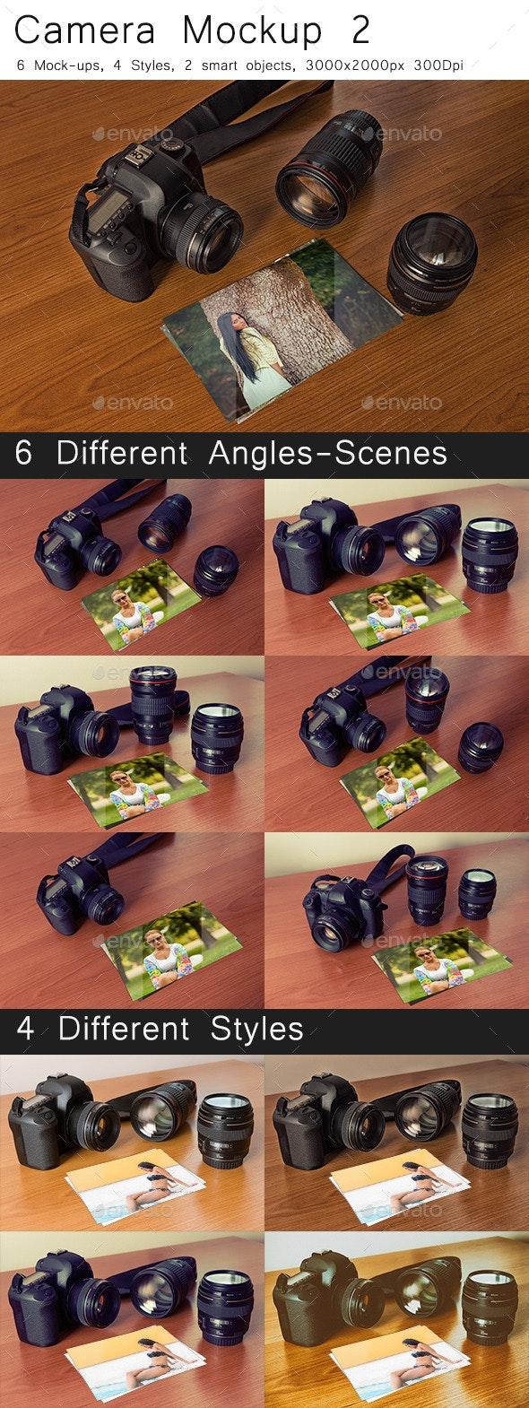 Camera Mock-Up 2 - Miscellaneous Print