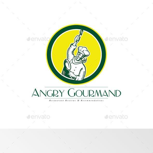 Angry Gourmand Logo
