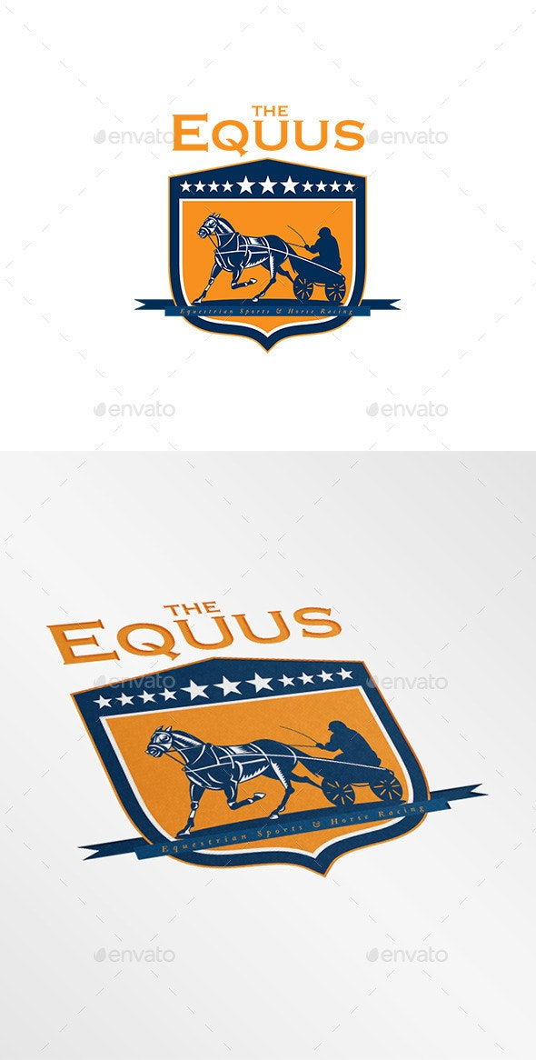 The Equus Horse Racing Logo - Humans Logo Templates