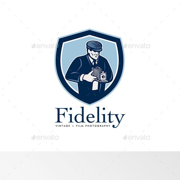 Fidelity Vintage Film Photography Logo
