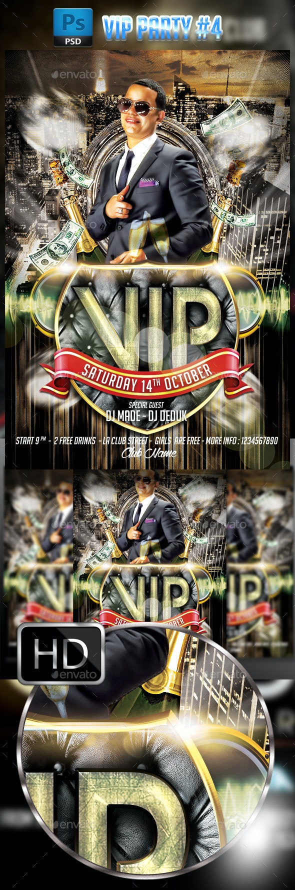 VIP Party #4 - Clubs & Parties Events