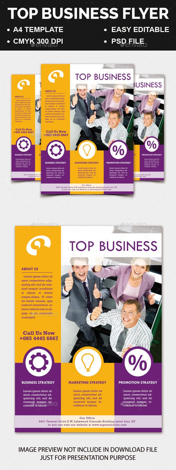 Top Business Flyer - Corporate Flyers