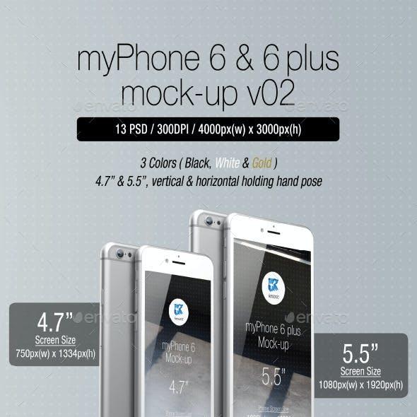 myPhone 6 Mock-up v02