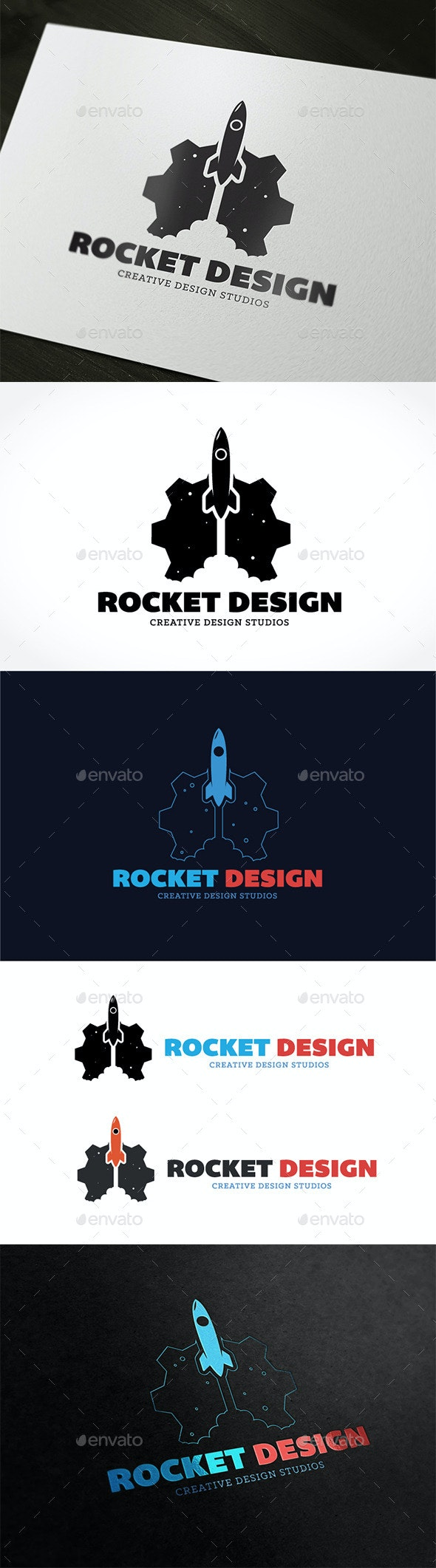 Rocket Design - Nature Logo Templates