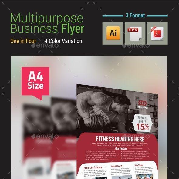 Multipurpose Uses Flyer Vol-3