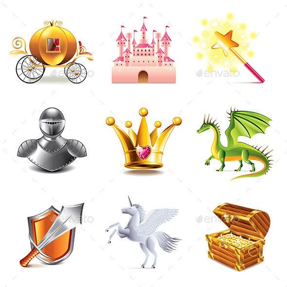 Fairy Tale Icons - Miscellaneous Vectors