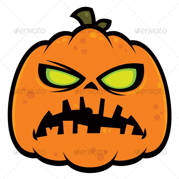 Pumpkin Zombie - Halloween Seasons/Holidays