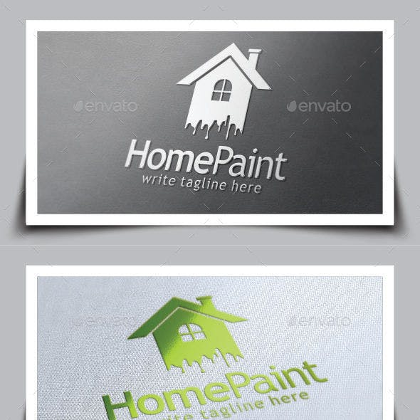 Home Paint Logo Template