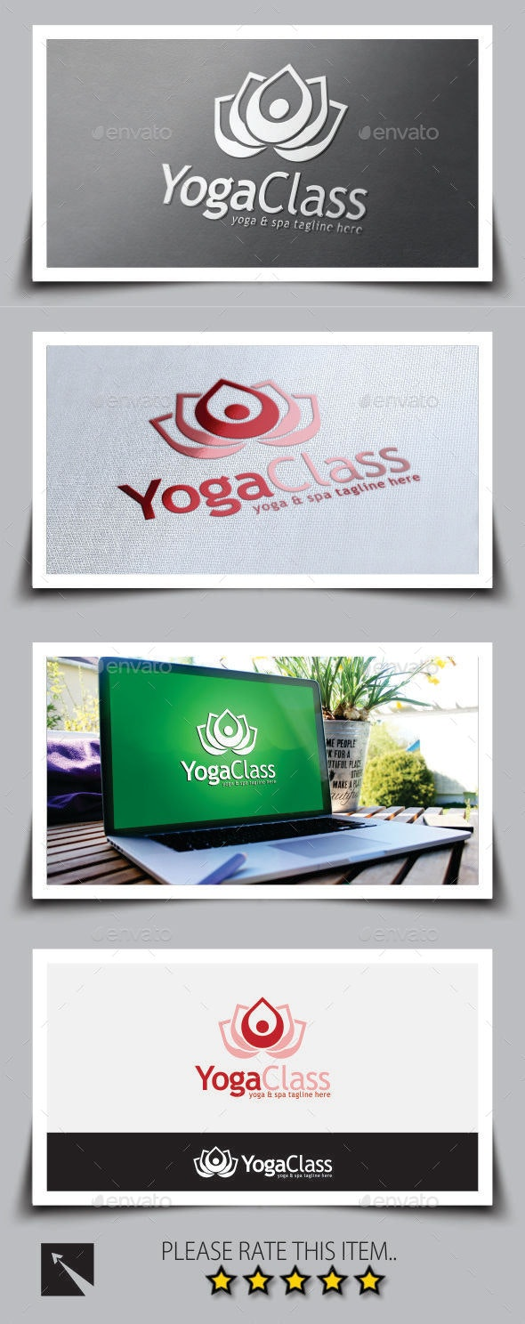 Yoga Logo Template - Nature Logo Templates