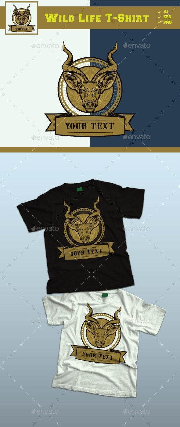 Wild Life Design Tshirt - Sports & Teams T-Shirts