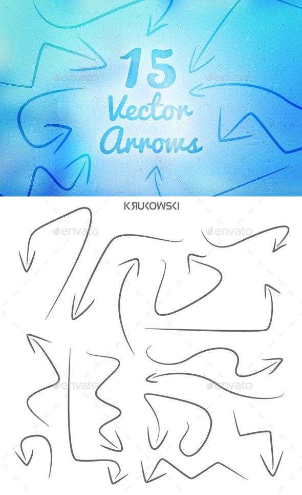 Vector Arrows Set - Miscellaneous Conceptual