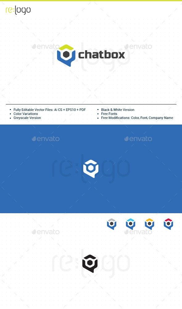 ChatBox Logo Design - Humans Logo Templates
