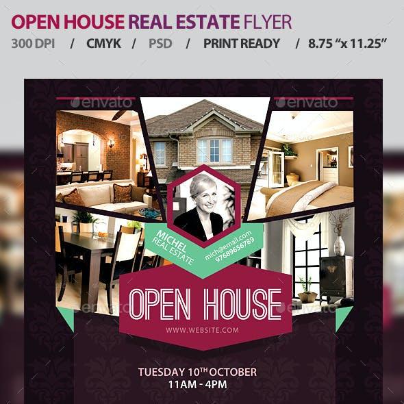 Open House Real Estate Promotion Flyer V1