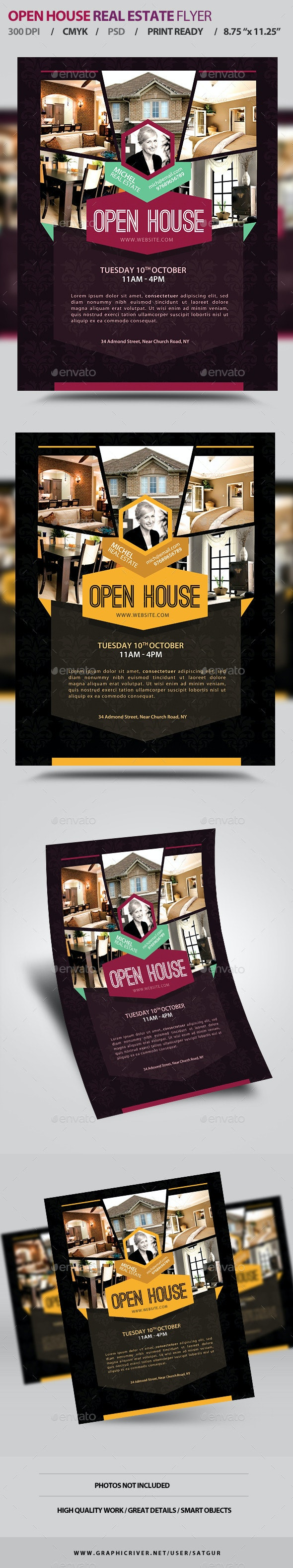 Open House Real Estate Promotion Flyer V1 - Corporate Flyers