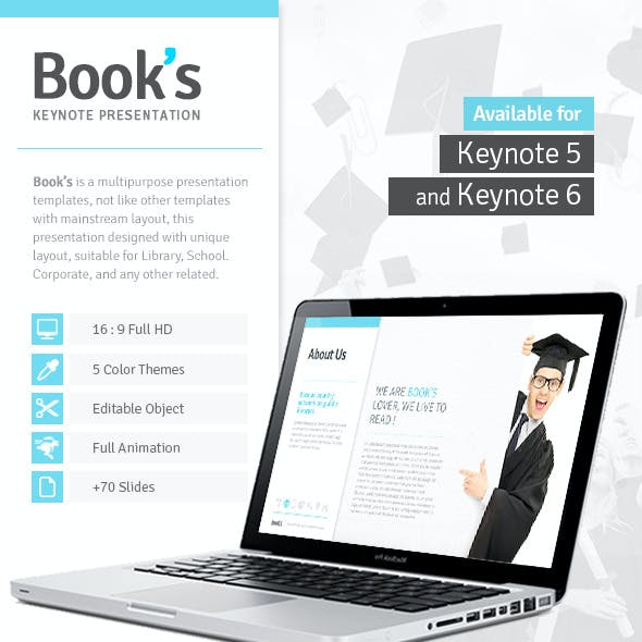 Book's - Keynote Template