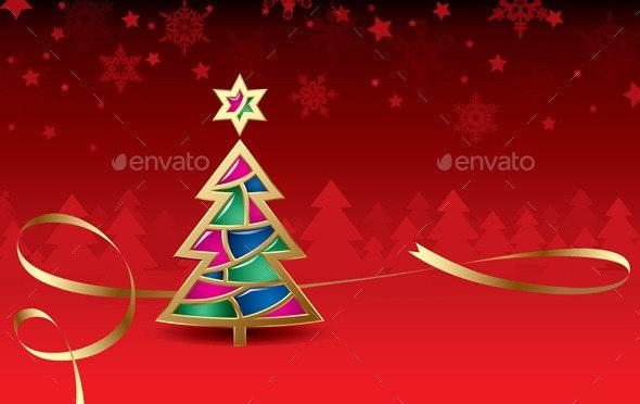 Christmas & New-Year's Greeting Card - Christmas Seasons/Holidays