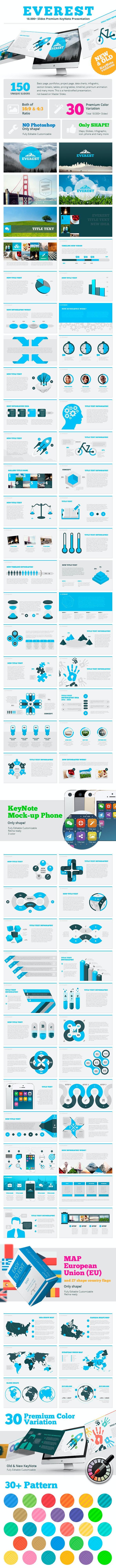 Everest KeyNote - Keynote Templates Presentation Templates