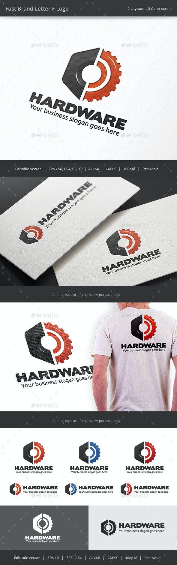 Hardware Gear Logo - Objects Logo Templates