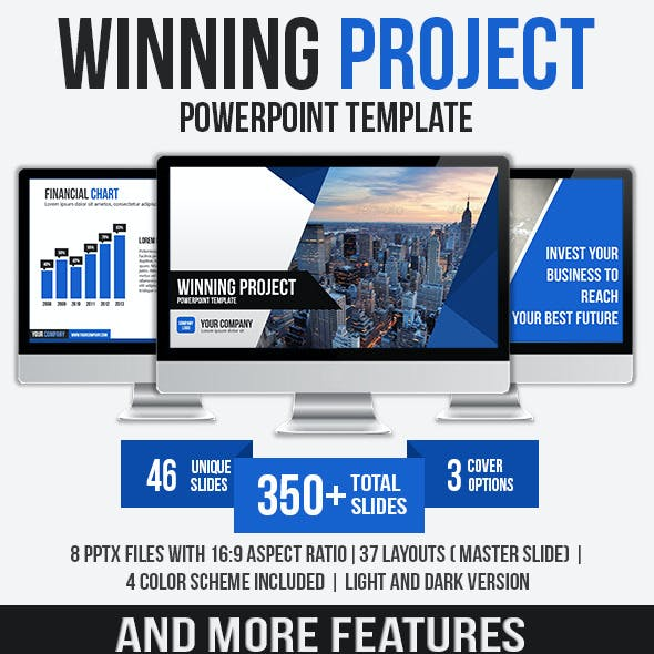 Winning Project PowerPoint Template