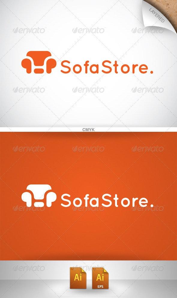 Sofa Store Logo - Objects Logo Templates