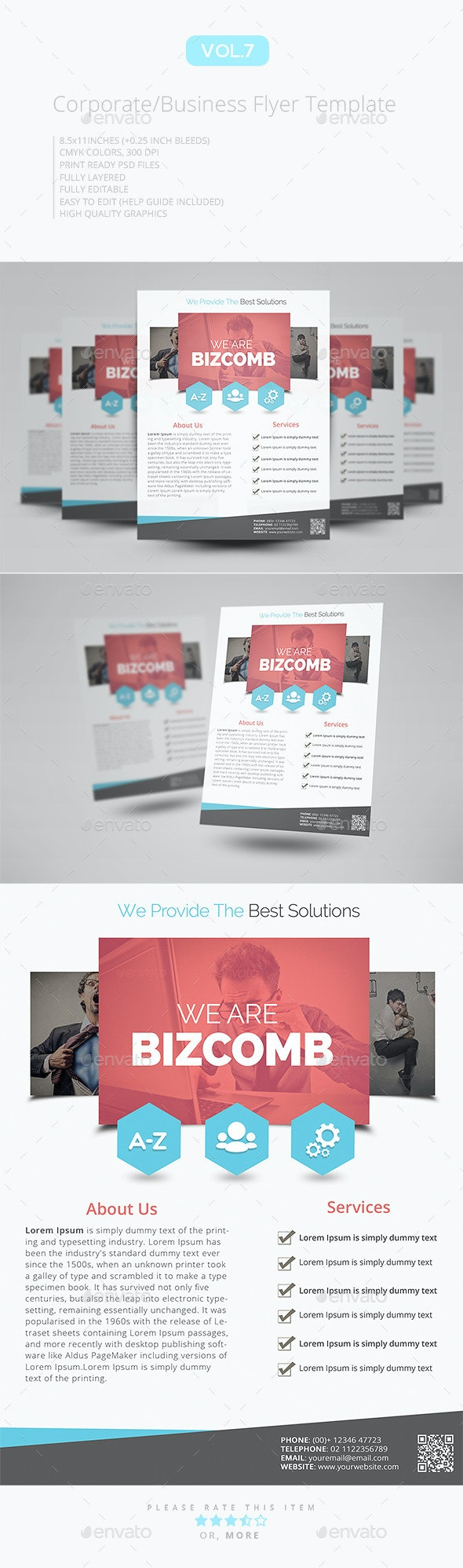 Corporate Flyer Template V.7 - Corporate Flyers