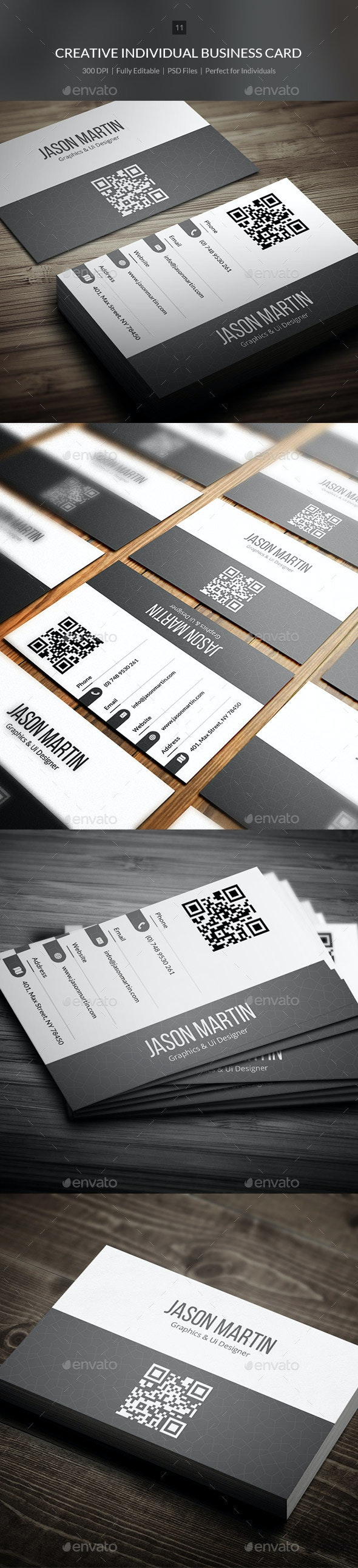 Creative Individual Busienss Card - 11 - Creative Business Cards