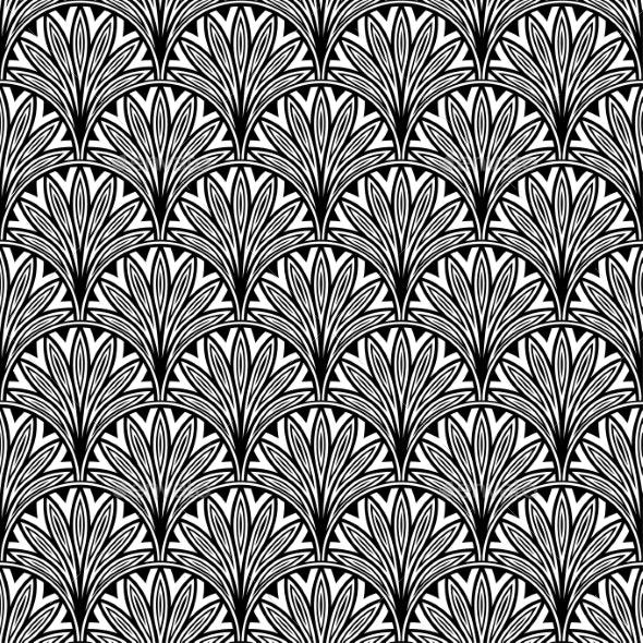 Decorative Floral Pattern - Patterns Decorative